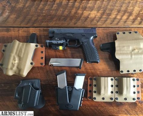 surefire laser light combo xdm armslist for sale springfield xdm 40 with tlr 2 light