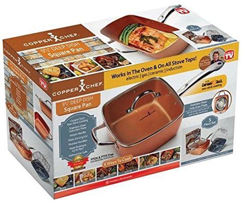 copper chef cookware set   pieces artisan sw home