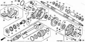 Honda Atv 2007 Oem Parts Diagram For Rear Final Gear