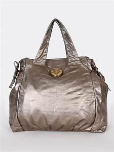 Gucci - Hysteria Large Shopping Bag Metallic   Luxury Bags