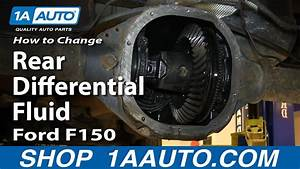 How To Change Rear Differential Fluid 04