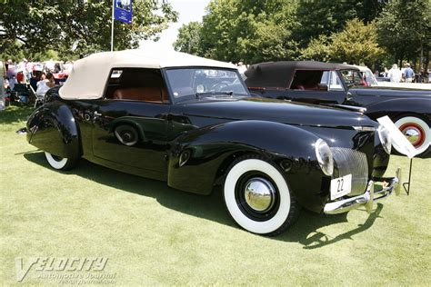 1939 Lincoln Continental Cabriolet Prototype Information