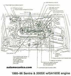 Nissan - Ubicacion De Sensores Y Componentes