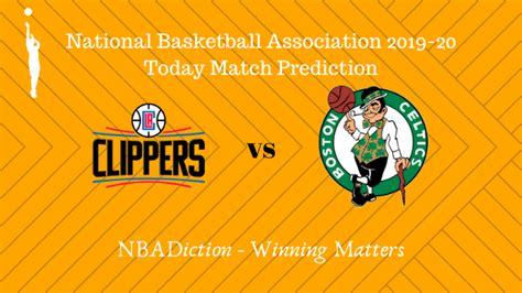 Clippers vs Celtics NBA Today Match Prediction - 21st Nov ...