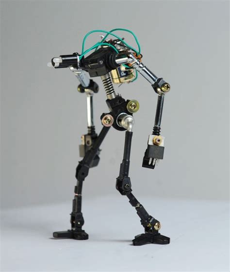 gallery adorable mini robots built  recycled