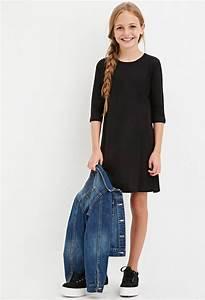 Girls T-Shirt Dress (Kids) | Forever 21 girls - 2000164648 ...