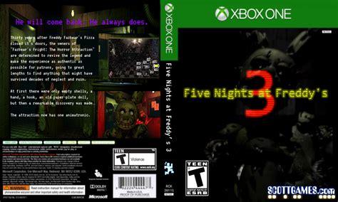 Fnaf 3 Cover For Xbox One Fake By Fnaf Crazed On Deviantart