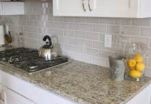 Gray Backsplash Kitchen East Coast Chic Kitchen Updates Picking Out Cabinets