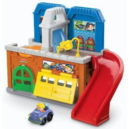 Little People Lp Stow N' Tow Garage Walmartcom