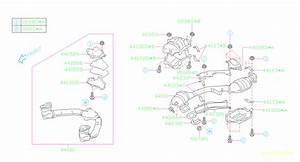 2006 Subaru Forester Catalytic Converter Heat Shield