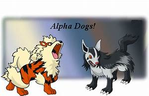 Arcanine and Mightyena by KyuubiVictoria on DeviantArt