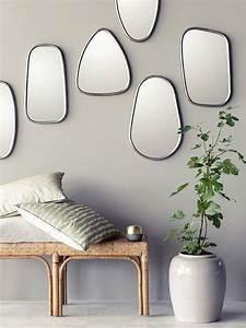 Miroir Deco Salon : 7 id es pour d corer un mur joli place ~ Melissatoandfro.com Idées de Décoration