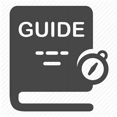 Guide Icon Handbook Map Location Traveler Icons