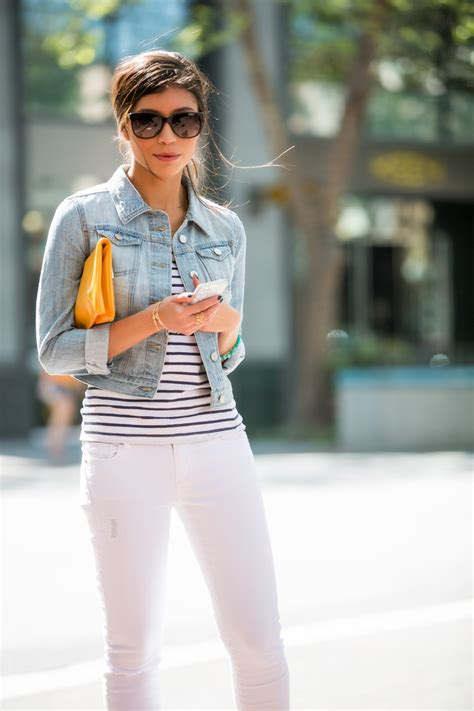 Spring Denim on Denim Outfit