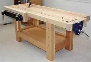 Woodworking Bench - Bob Vila