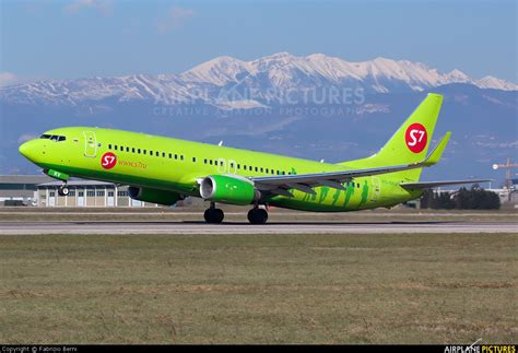 VQ-BKV - S7 Airlines Boeing 737-800 at Verona - Villafranca | Photo ID 267595 | Airplane ...