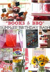 Books & BBQ | Henry's 3rd Birthday Bash - This is our Bliss