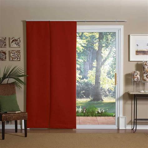sliding patio door curtain panels window treatments