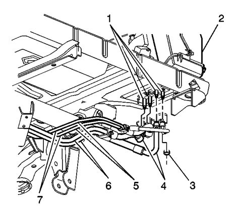 1997 Suburban Cooling System Diagram by I Engine Coolant From The Passenger Rear