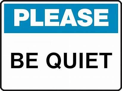 Quiet Please Sign Clip Keep Silent Clipart