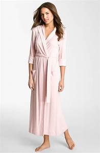 carole hochman designs gardenside hooded robe in pink With robe carole