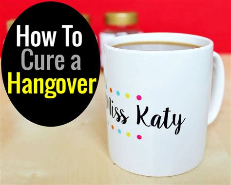 how to cure hangover how to cure a hangover