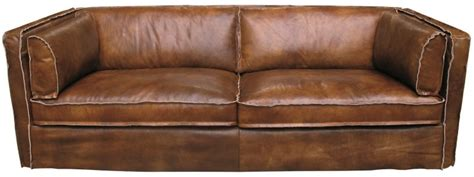 Echt Leder Sofa Chesterfield 3sitzer Antik Braun Couch