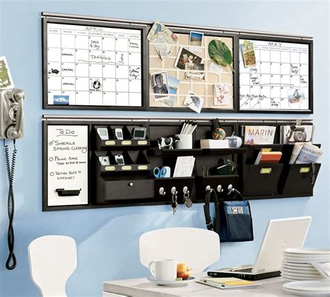 Living Room Enticing Wall Organizer System For Home Office