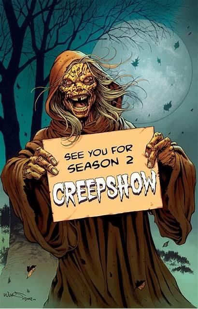 Creepshow Shudder Season Second Renewed Renews Horror