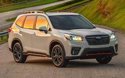 Subaru Ascent 2019 Vs 2020 by Comparison Subaru Forester Sport 2019 Vs Subaru