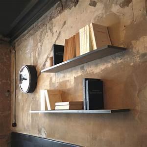 Tablette Murale Fixation Invisible : la manufacture nouvelle ~ Teatrodelosmanantiales.com Idées de Décoration