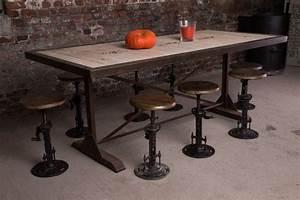 Table A Manger Industrielle : les 256 meilleures images du tableau meuble industriel sur pinterest meubles industriels ~ Teatrodelosmanantiales.com Idées de Décoration