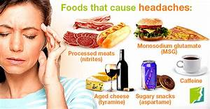 Foods and Headaches: The Link