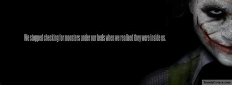 joker famous quote facebook cover facebook covers fb