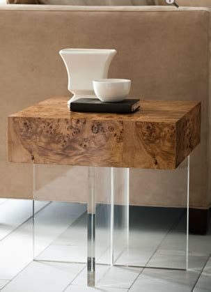 """A wide variety of jonathan adler table options are available to you, such as modern. Jonathan Adler - """"Bond"""" Lucite End Table 