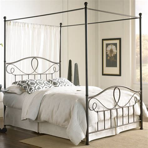 sylvania iron canopy bed by fashion bed from humbleabode