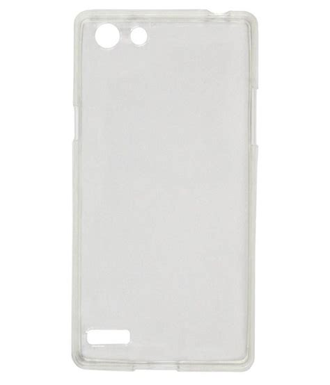 oppo neo 7 rvage back cover for oppo neo 7 transparent plain back