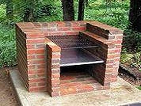 Backyard Built by How To Build An Outdoor Charcoal Grill Hunker