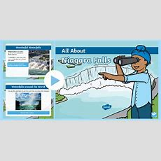 * New * Ks1 All About Niagara Falls Powerpoint