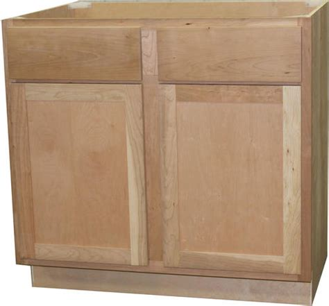Menards Unfinished Cherry Cabinets quality one 36 quot x 34 1 2 quot unfinished cherry sink base