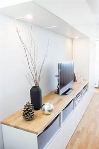 Ikea Besta Konfigurator : die 25 besten ideen zu tv wand auf pinterest schwarze fensterverkleidungen diy tv st nder ~ Orissabook.com Haus und Dekorationen