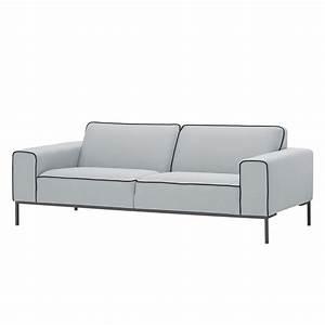 Sofa Grau 3 Sitzer : sofa ampio duo 3 sitzer webstoff grau stoff floreana hellgrau studio copenhagen online ~ Eleganceandgraceweddings.com Haus und Dekorationen
