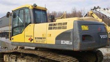 volvo ec240c lr excavator service repair manual
