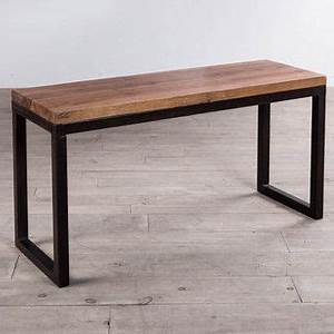 cordova reclaimed wood iron console table india With top rated coffee tables