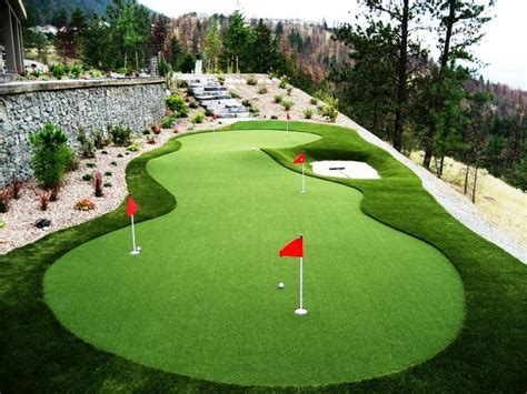 Backyard Artificial Putting Green - 25 best backyard putting green trending ideas on