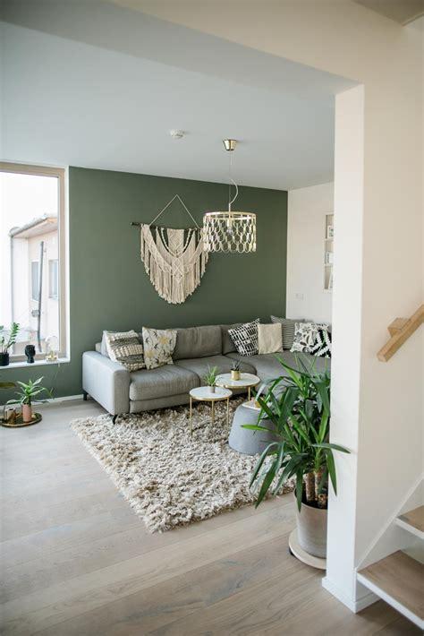 blaugraue wandfarbe bilder ideen couch