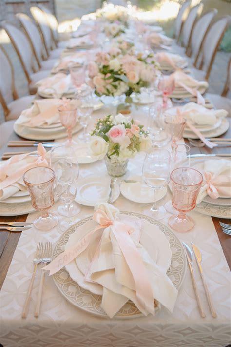 Blush Wedding Decorations Wedding Ideas By Colour CHWV