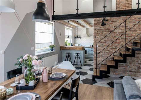 deco chambre loft loft scandinave visite déco décoration intérieure