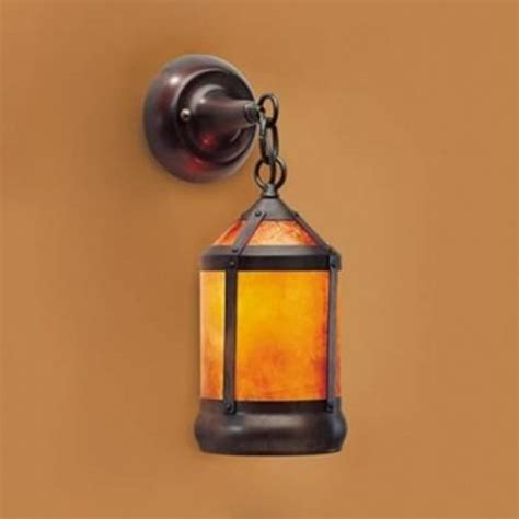 Mica L Company Sconce 130 lantern pendant wall sconce coppersmith collection