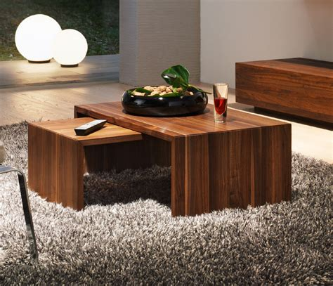 how to make a coffee table higher luxury contemporary wood coffee tables team 7 ponte